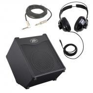"Peavey MAX 110 Combo Amp 100W 10"" Bass Guitar Amplifier with 1/4"" Instrument Cable &amp..."
