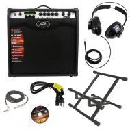 "Pevaey Vypyr VIP3 Combo Amp 12"" Modeling Electric Guitar 100 Watt Amplifier with Stand, 1/4&..."