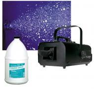 American DJ VF Flurry Hiigh Output 600W Snow Machine with Gallon Fluid Package
