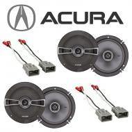 Acura Integra 1986-2001 Factory Speaker Replacement Kicker (2) KSC65 Package New