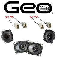 GEO Metro Convertible 1991-1994 OEM Speaker Upgrade Kicker KSC4 KSC46 Pack New