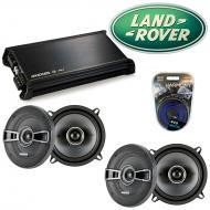 Land Rover Discovery II 99-02 OEM Speaker Upgrade Kicker (2) KSC5 & DX400.4 Amp