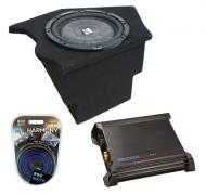 "Chevy Camaro 93-02 10"" Loaded Kicker CVT10 Sub Box W/ DX500.1 Amplifier & 8 Gauge Kit"