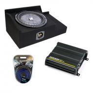 "Chevy Silverado Extended Cab 10"" 99-06 Powered Kicker CVT10 Subwoofer Enclosure W/ CX600.1 &..."