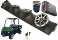 "Bush Hog Trail Hunter Powered Kicker KS525 / Rockford Amp Quad (4) 5 1/4"" Speaker UTV Pod Sy..."