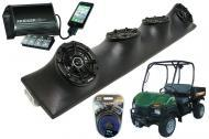 Bush Hog Trail Hunter Powered Kicker DSC5 & PXI50.2 iPhone Controlled Amp Quad (4) 5 1/4&quot...