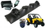 """Can-Am Commander Powered Kicker DSC5 & PXI50.2 iPhone Controlled Amp Quad (4) 5 1/4"""" Spe..."""