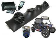 "Heathen V Twin Powered Kicker DSC5 & PXI50.2 iPhone Controlled Amp Quad (4) 5 1/4"" Speak..."