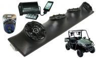 "Kymco UXV Powered Kicker DSC5 & PXI50.2 iPhone Controlled Amp Quad (4) 5 1/4"" Speaker UT..."