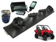 "Honda Pioneer Powered Kicker DSC5 & PXI50.2 iPhone Controlled Amp Quad (4) 5 1/4"" Speake..."