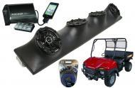 "Bush Hog Trail Hand Powered Kicker DSC5 & PXI50.2 iPhone Controlled Amp Quad (4) 5 1/4"" ..."