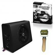 "Kicker PES10C 10"" 450W Powered Subwoofer Enclosure with Sound Damping Trunk Kit"