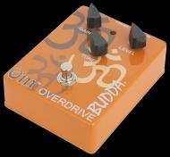 Budda OM Overdrive Heavy-Duty Steel Case Guitar Effects Pedal (BRS-97030)