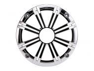 "Kicker 41KM8GCR 8"" Round Marine Grille for KM Series Coaxial Speakers - Chrome"