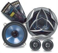 "Kicker 05KS5.2 Car Audio 5 1/4"" Component Speaker Set 130W Peak 4 Ohm Speakers"