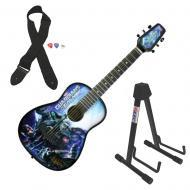 Peavey Marvel Guardians Of The Galaxy 1/2 Size Student Acoustic Guitar & Stand