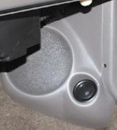 "Q Logic 93-95 Jeep Grand Cherokee 6 1/2"" Custom Speaker Kick Panel"
