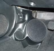 "Q Logic 02-06 Acura RSX 5 1/4"" Custom Speaker Kick Panel"