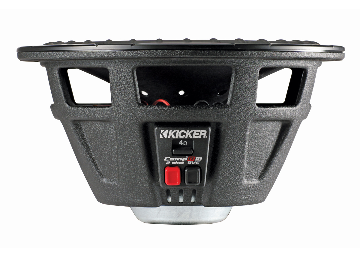 kicker audio cwr10 compr 10 u0026quot  car sub woofer speaker 2