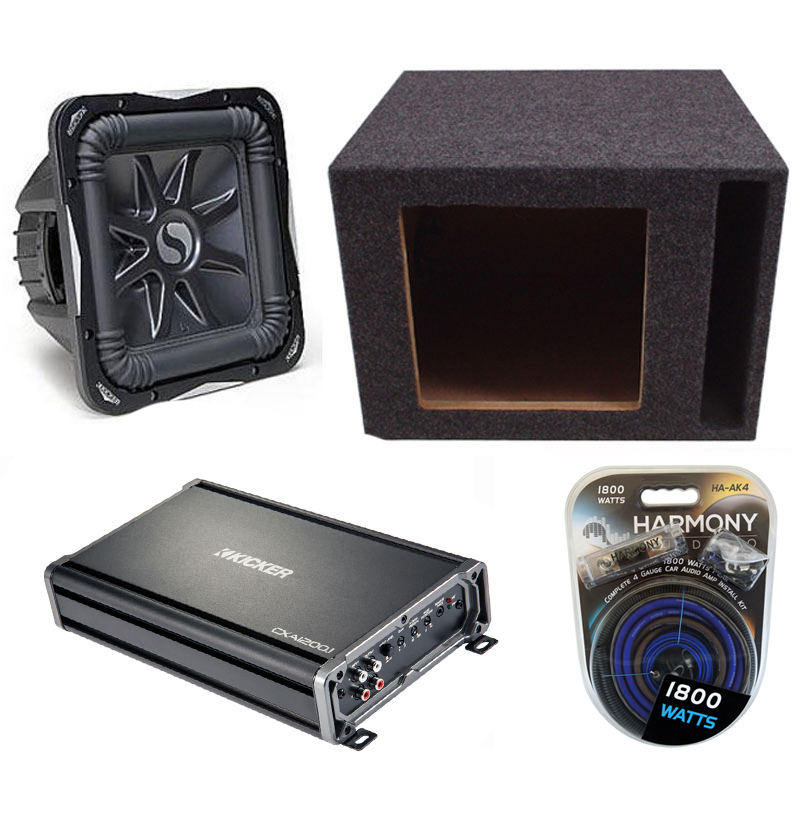 how to connect a car subwoofer to an existing amplifier