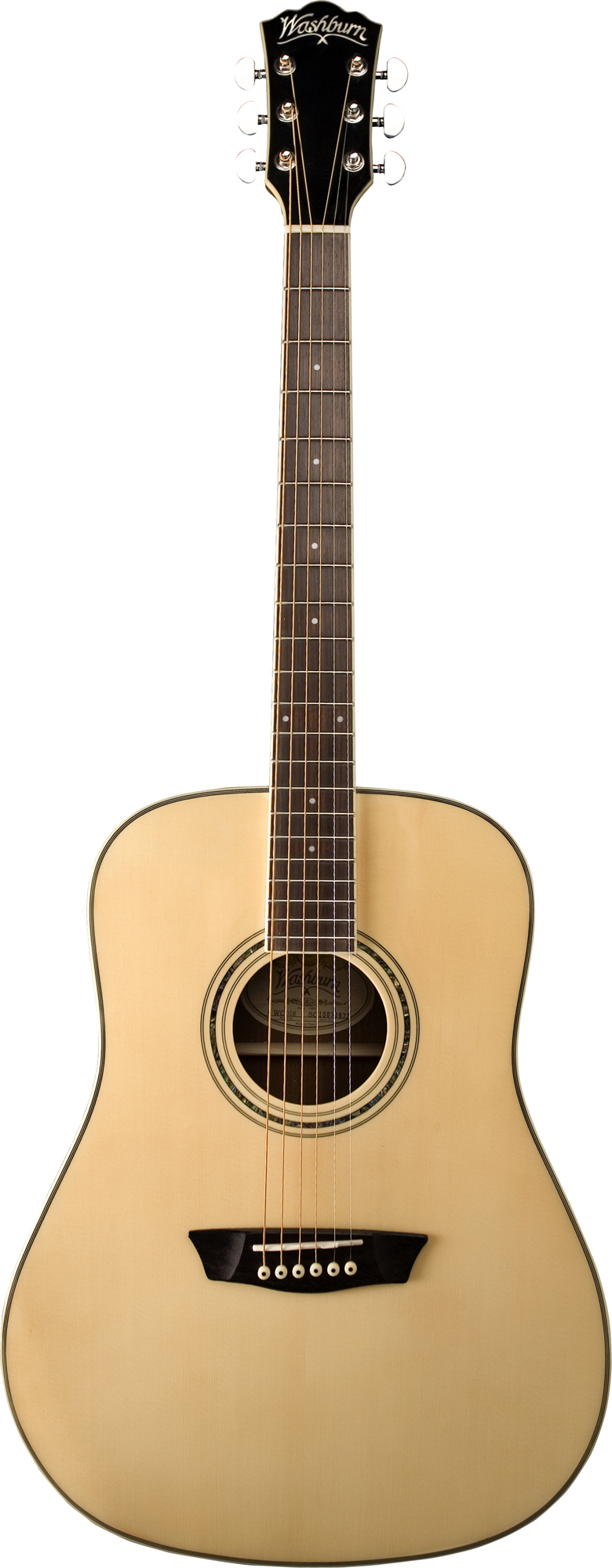 washburn wcd18 acoustic dreadnought style guitar w rosewood bridge tuners new ebay. Black Bedroom Furniture Sets. Home Design Ideas