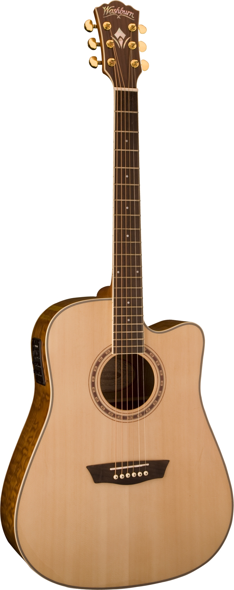 washburn wd30sce acoustic dreadnought cutaway style guitar with preamp tuner sys was12 wd30sce. Black Bedroom Furniture Sets. Home Design Ideas