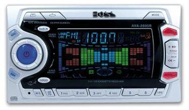 Boss AVA-2695R Car Audio CD & Tape Player Combo Stereo Receiver Closeout