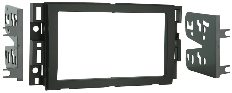 Metra 95-3305 Double DIN Installation Dash Kit for 2006-up Chevrolet Vehicles