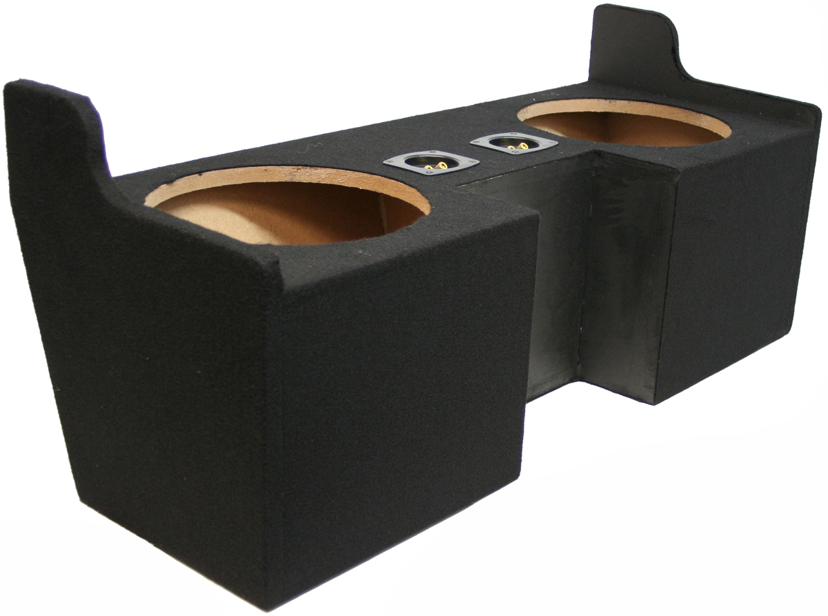 COLORADO 04 12 EXT CAB TRUCK DUAL 10 SUBWOOFER BASS SPEAKER SUB BOX