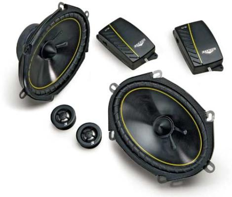 6X8 component car speakers