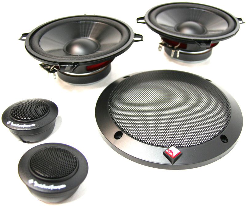"""Rockford Fosgate R1652-S 6.50"""" 2-Way Component System"""