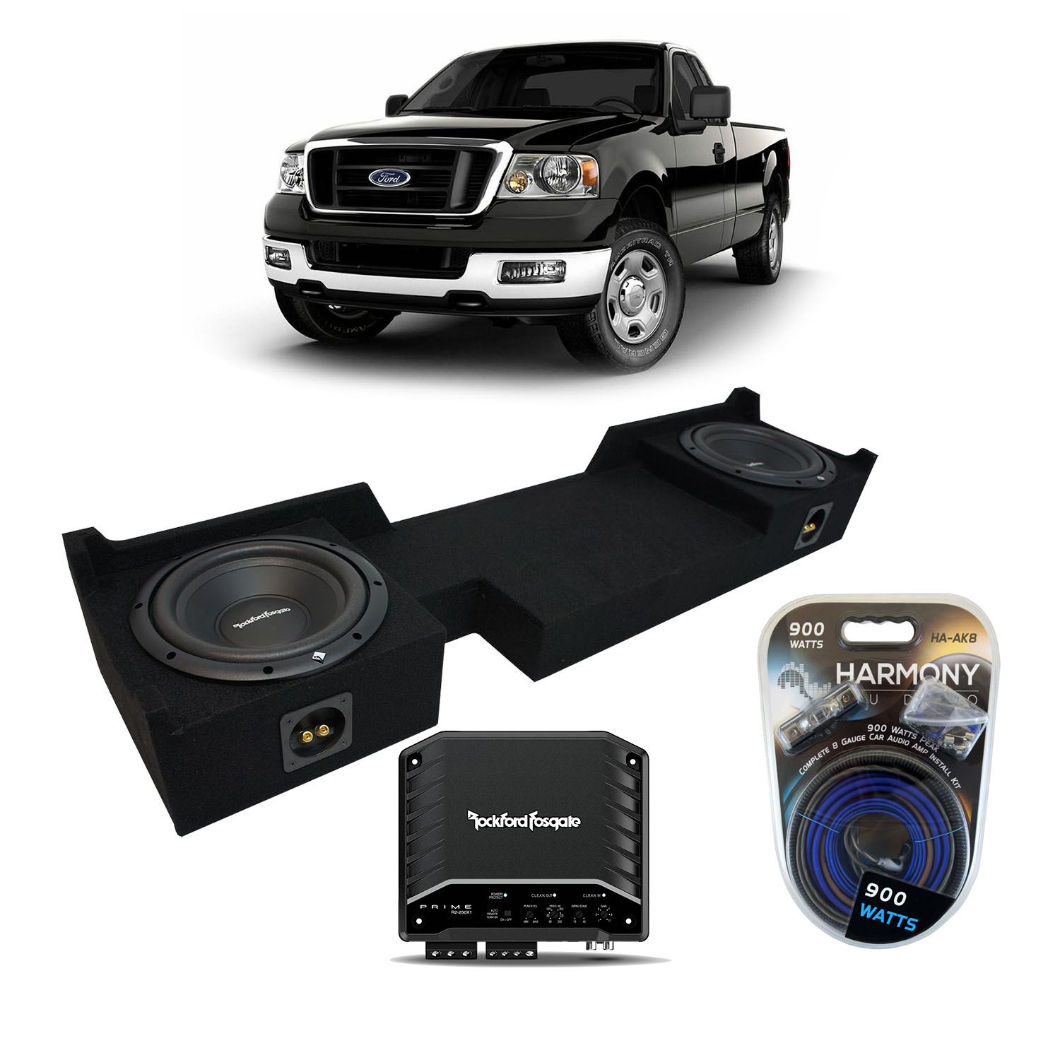 2004-2008 Ford F-150 Ext Super Cab Truck Rockford Prime
