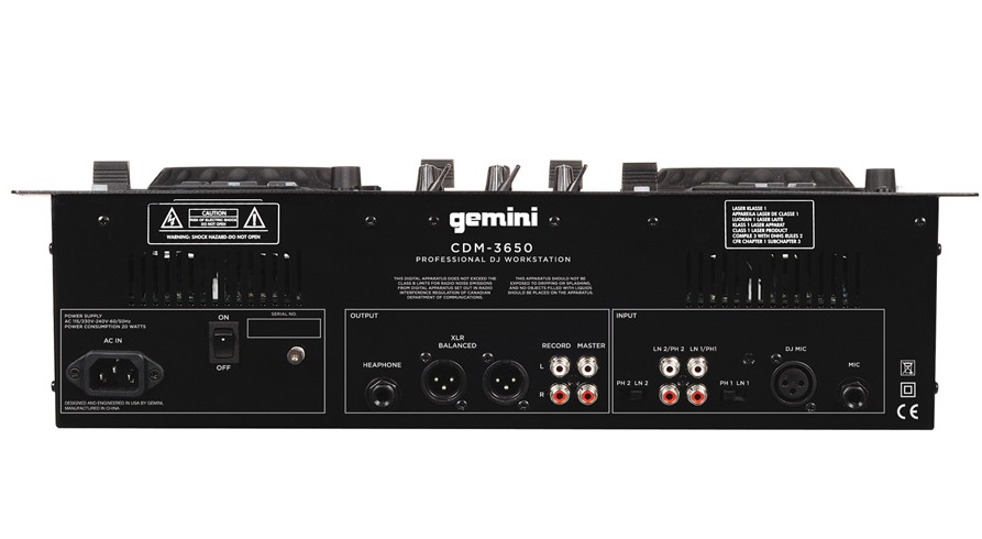 how to connect gemini mixer to laptop