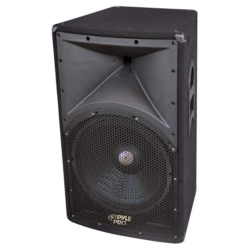 Pyle PADH121 600 Watt 12' 2 - Way PA Speaker Cabinet