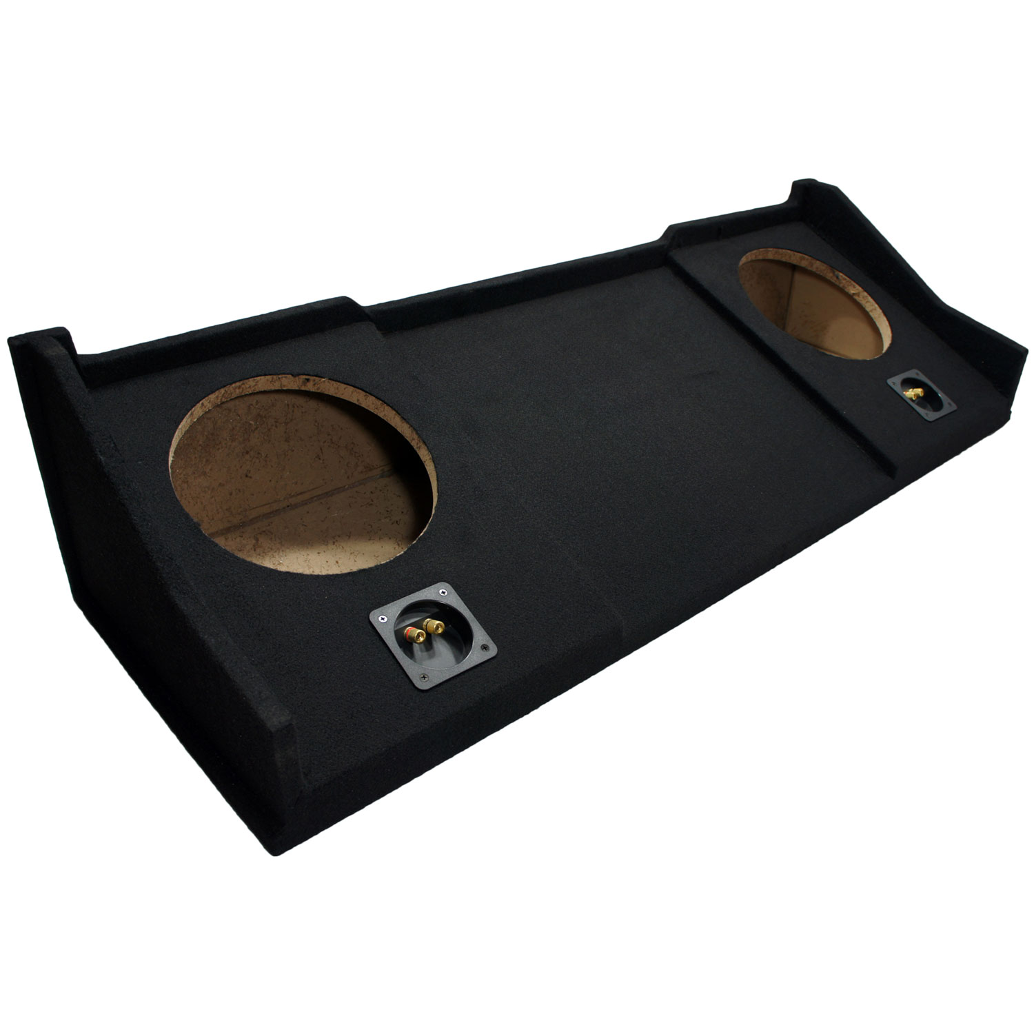"Custom Dual 10"" 98-01 Dodge Ram Extended Cab Subwoofer Box"