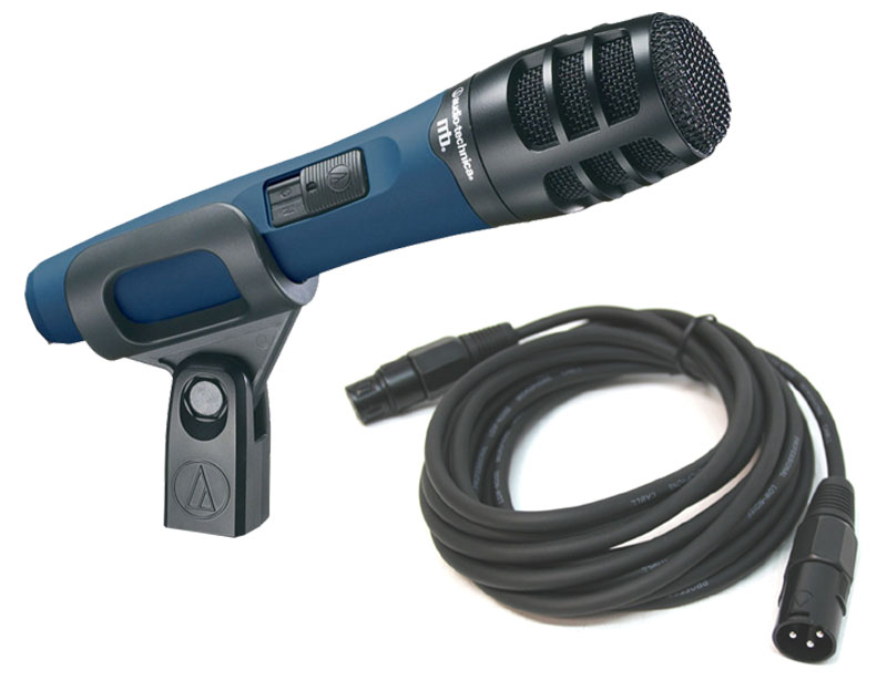Microphone Cords Packages : Audio technica mb k wired hypercardioid dynamic instrument