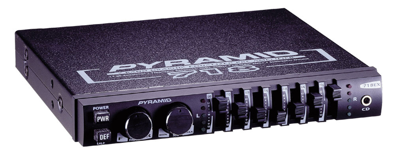Pyramid 718ex 7 Band Graphic Equalizer W   Sub Crossover