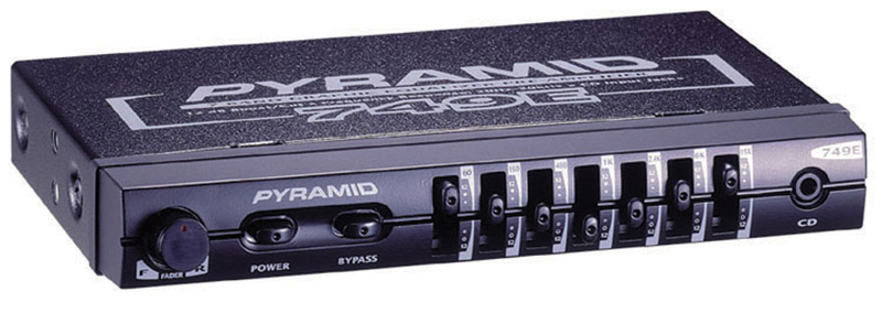 Pyramid 749 7 Band Graphic Equalizer