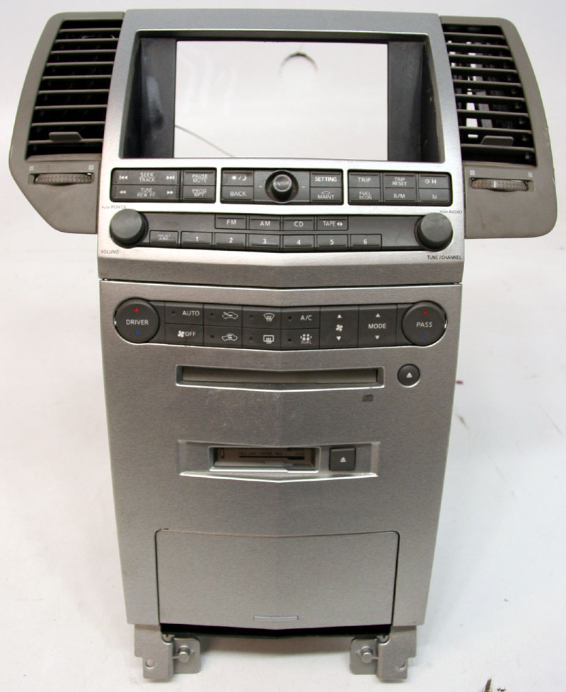 2006 nissan maxima factory stereo tape  u0026 cd player factory
