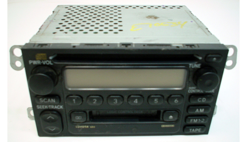 2000-2001 Toyota Camry Factory Fujitsu Ten Radio Cd Player
