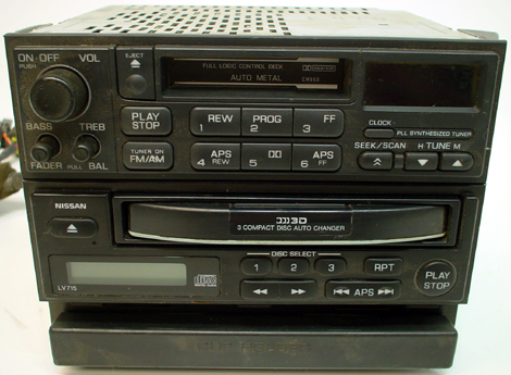 1995 1997 nissan 200sx factory radio 3 disc cd player. Black Bedroom Furniture Sets. Home Design Ideas