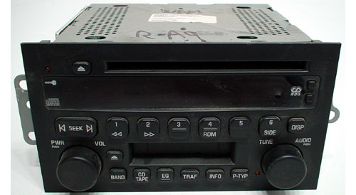 2004 2005 buick rendezvous factory am fm radio cassette. Black Bedroom Furniture Sets. Home Design Ideas