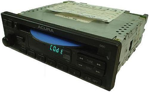 1997-1999 Acura CL Factory AM/FM Stereo CD Player Radio