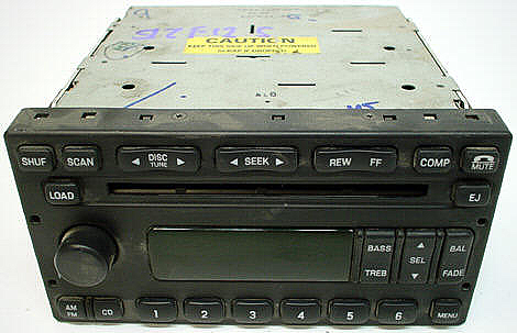 2002-2004 Ford F-150 Factory Stereo 6 Disc CD Changer Radio