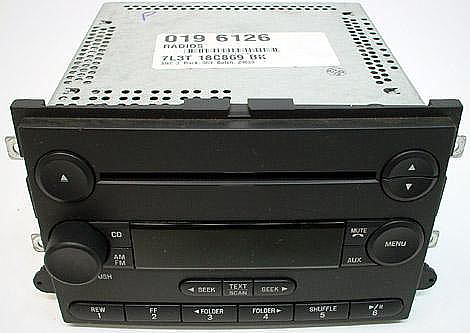 2006-2007 Ford Fusion Factory Stereo MP3 CD Player Radio