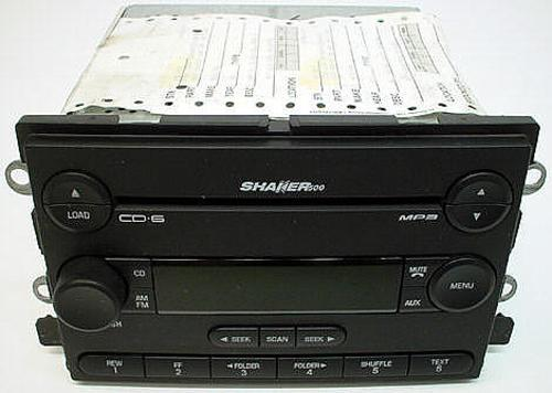 2005-2006 Ford Mustang Shaker 6 Disc Changer CD Player Radio