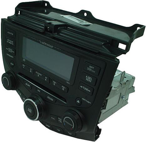 2003-2007 Honda Accord Factory AM/FM Stereo 6 Disc CD Radio
