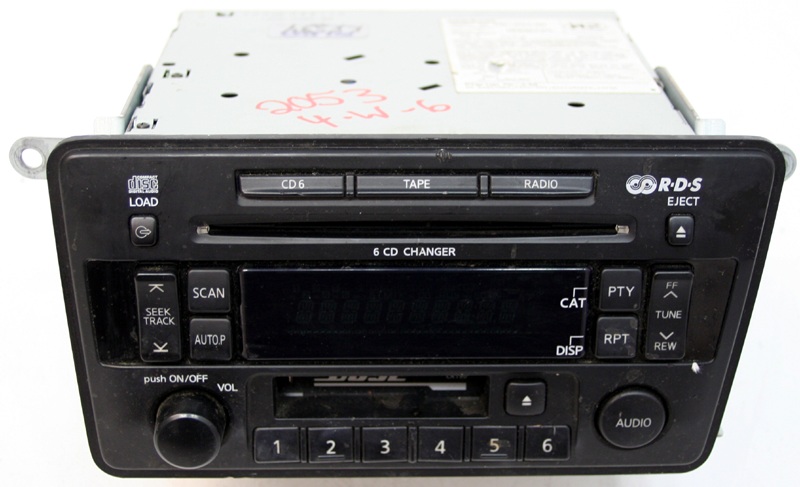 2004 nissan armada cd player problems