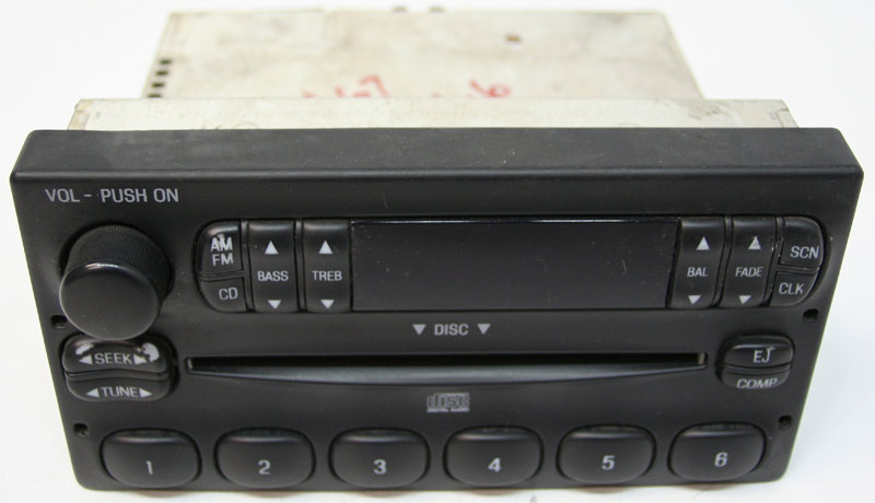 1997 Ford Ranger Factory AM/FM Stereo CD Player Radio