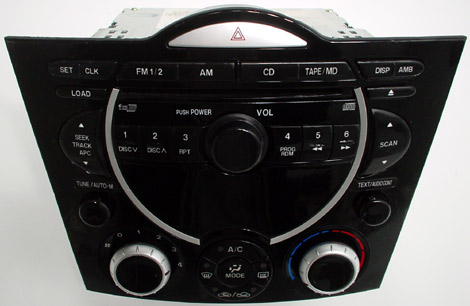 2004-2006 Mazda RX8 Factory BOSE 6 Disc Changer AM/FM CD Radio